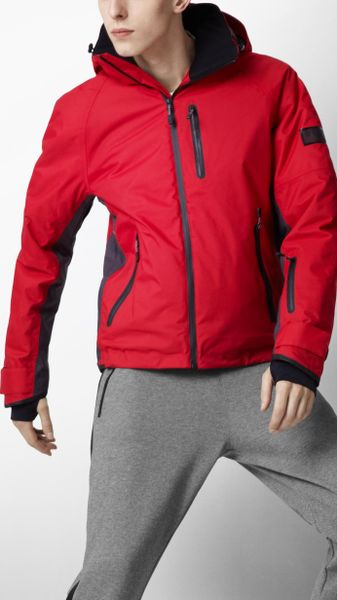 Burberry Sport Technical Ski Jacket In Red For Men Union