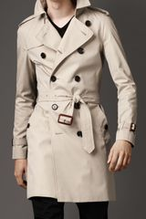 Burberry Classic Cotton Trench Coat - Lyst