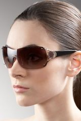 Marc By Marc Jacobs Logo-temple Shield Sunglasses - Lyst