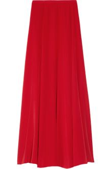 Mason by Michelle Mason Silk Crepe De Chine Maxi Skirt - Lyst
