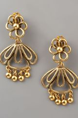 Oscar de la Renta Folkloric Linked Earrings - Lyst