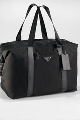 Prada Soft Duffel Bag - Lyst