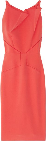 Roland Mouret Mordecai Stretch-crepe Dress - Lyst