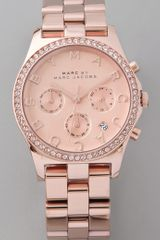 Marc By Marc Jacobs Henry Glitz Chronograph Watch - Lyst