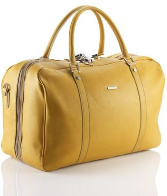 Mark/giusti Active Senape Weekend Bag - Lyst