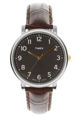 Timex® Timex Originals Brown Printed Leather Strap Watch - Lyst