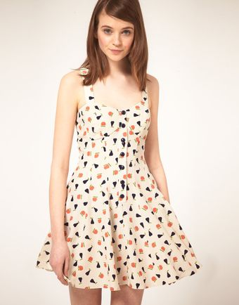 ASOS Collection Summer Dress  - Lyst