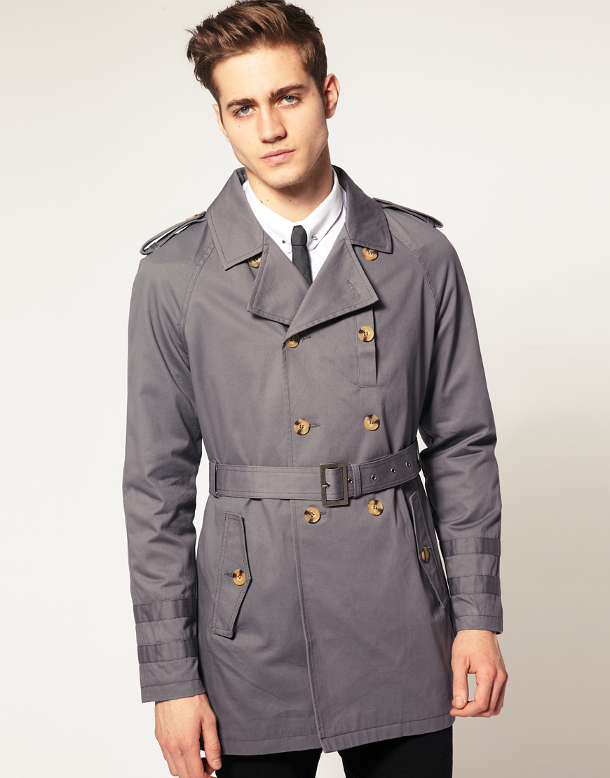 Men's ASOS Raincoats and trench coats ASOS (an acronym for As Seen On Screen) is one of the most sought-after online shops around the world. Founded in by talented duo Quentin Griffiths and Nick Robertson, this brand is coveted by fashion-forward men and women all-over the globe.
