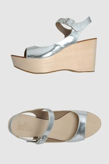 Belle By Sigerson Morrison  Wedges - Lyst