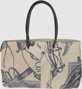 Collection Priveé Large Leather Bag - Lyst