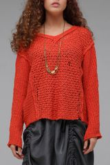 Free People Laguna Coast Pullover in Copper - Lyst
