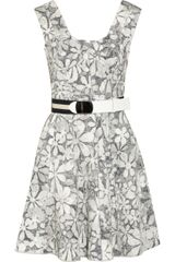 Marc Jacobs Printed Cotton-blend Dress - Lyst