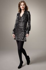 Milly Kelli Sequined Minidress - Lyst
