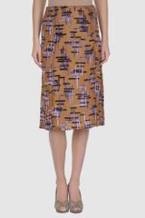 Prada Knee - Length Skirt - Lyst