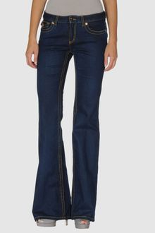 Roberto Cavalli Denim Trousers - Lyst