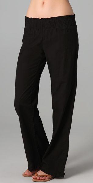 Tori Praver Swimwear Gaia Pants in Black