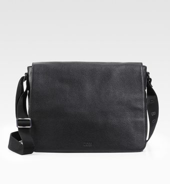 Boss Black Buffalo 2 Leather Messenger Bag - Lyst