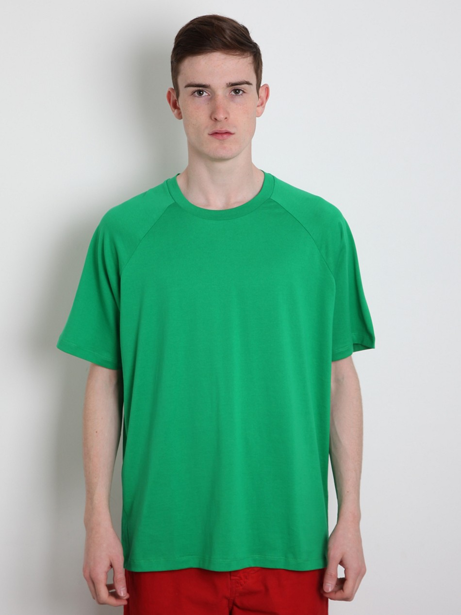 jil sander mens oversized t shirt in green for men lyst. Black Bedroom Furniture Sets. Home Design Ideas