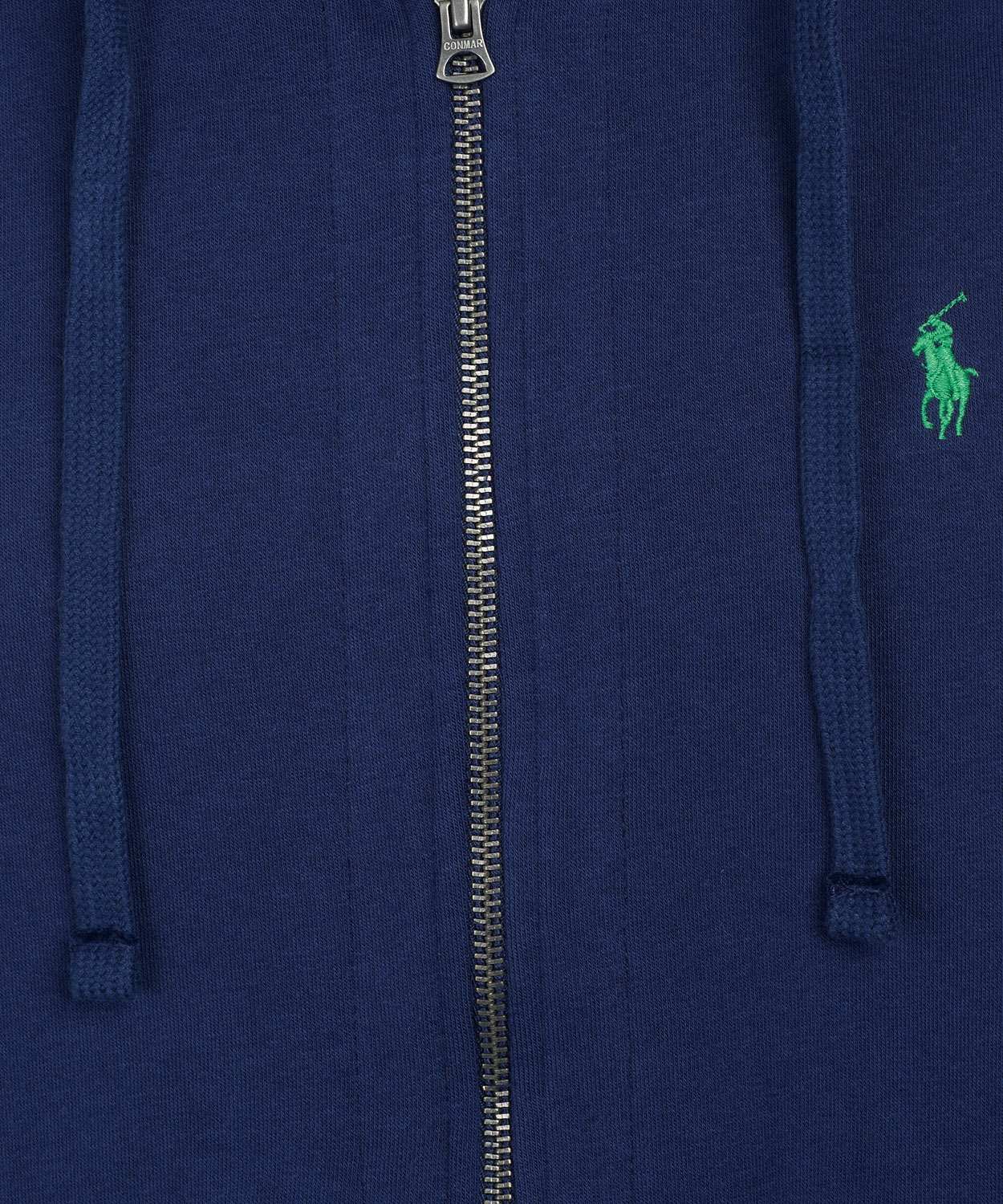 Polo ralph lauren Navy Zip Front Hoodie in Blue for Men (navy) | Lyst
