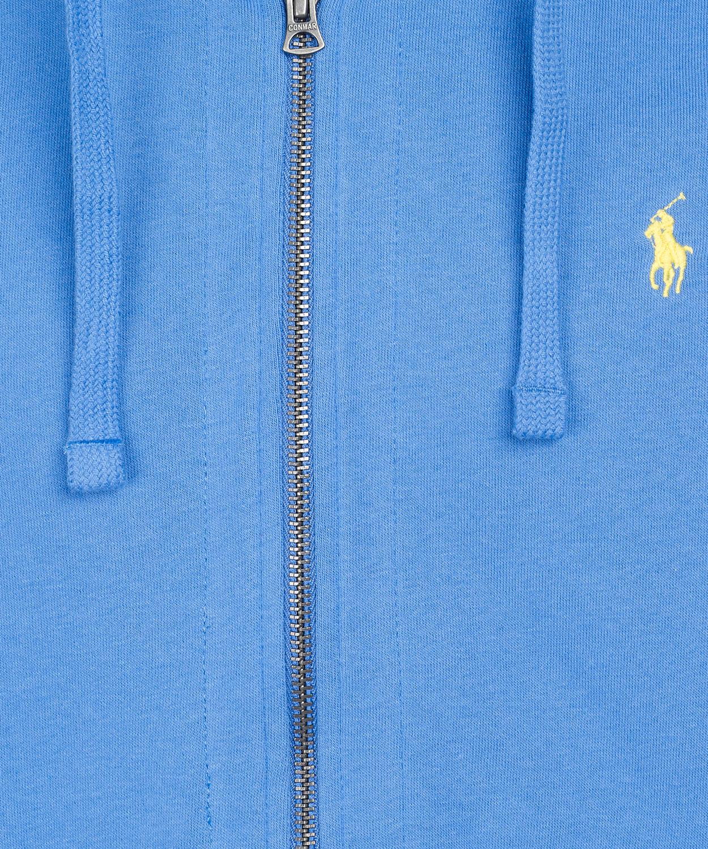 b420ab57a ... wholesale lyst polo ralph lauren sky blue zip front hoodie in blue for  men f7403 de190