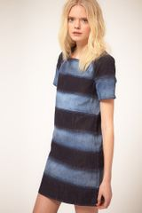 See By Chloé See By Chloe Denim Panelled Mini Dress - Lyst