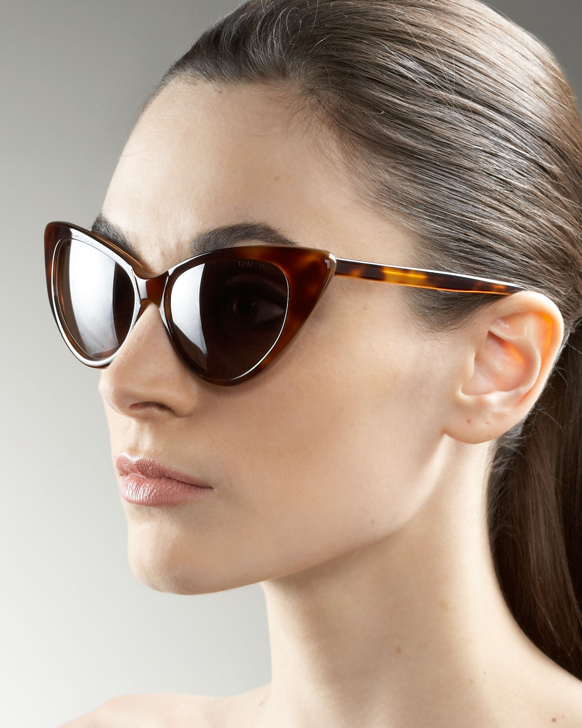 925a6014b2c Gallery. Previously sold at  Neiman Marcus · Women s Cat Eye Sunglasses  Women s Tom Ford ...