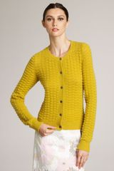 Marc Jacobs Textured Cashmere Cardigan - Lyst
