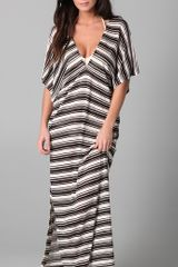 Josa Tulum Double V Caftan Cover Up - Lyst