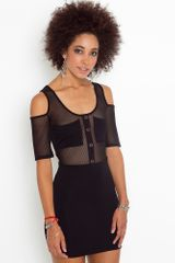 Nasty Gal Detention Mesh Dress - Lyst