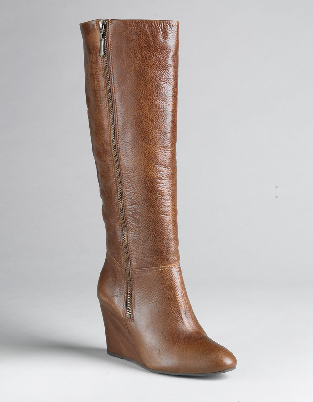 Lyst Steven By Steve Madden Meteour Leather Wedge Boots