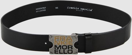 Frankie Morello Belts in Black for Men - Lyst