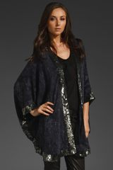 Haute Hippie Jape with Sequin Border - Lyst