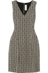 Prabal Gurung Textured Cotton-blend Dress - Lyst