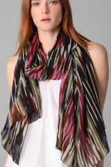 Thakoon Addition Ikat Scarf - Lyst