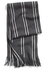 1901 Stripe Knit Wool Scarf - Lyst
