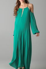 Bcbgmaxazria The Ivonka Dress in Green - Lyst