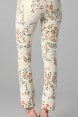 Citizens Of Humanity Mandly Floral Roll Up Jeans in Floral (natural) - Lyst