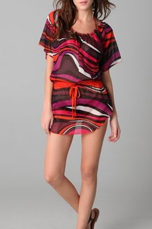M Missoni Psychedelic Print Cover Up