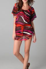 M Missoni Psychedelic Print Cover Up - Lyst