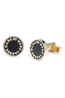 Marc By Marc Jacobs Enamel Disc Cuff Links - Lyst