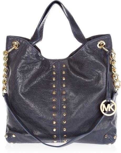 72a5b3a01b501a Michael Kors Astor Leather Large Shoulder Bag | Stanford Center for ...