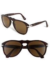 Persol Retro Keyhole Polarized Sunglasses - Lyst