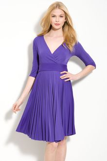 BCBGMAXAZRIA Cruz Jersey Faux Wrap Dress - Lyst