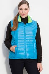 Bernardo Packable Down Vest - Lyst