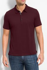 Burberry Pima Cotton Polo Shirt - Lyst