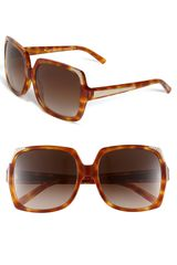Burberry Oversized Square Sunglasses - Lyst