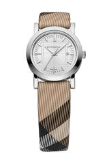 Burberry Ladies Small Check Strap Watch - Lyst