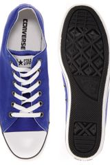 Converse All Star Slim Plimsolls in Blue for Men - Lyst