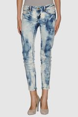D&G Denim Pants - Lyst