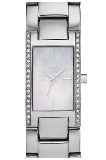 DKNY Medium Rectangular Bracelet Watch - Lyst